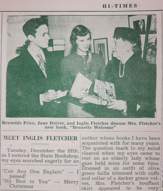 Reynolds-Price-Inglis-Fletcher