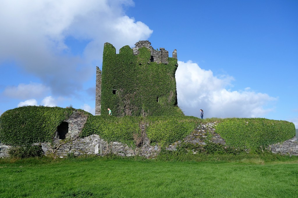Ballycarbery Castle, Iveragh, Ireland