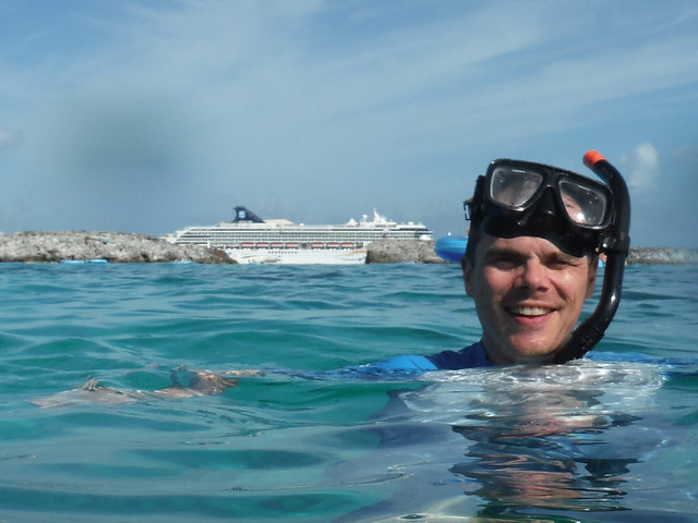 snorkeling Great Stirrup Cay