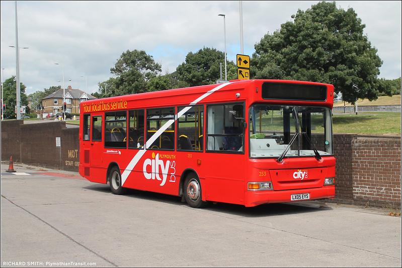 Plymouth Citybus 253 LX05EYS