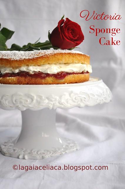 Victoria Sponge Cake senza glutine