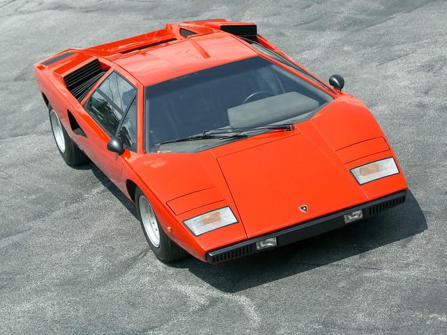 Lamborghini Countach LP400. 1974 – 1978 годы