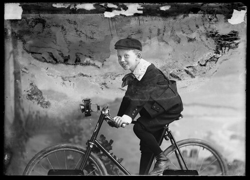 Boy on Bicycle (in Washington DC, 1890s)
