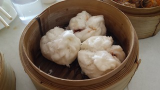 Steamed BBQ Buns from Easy House
