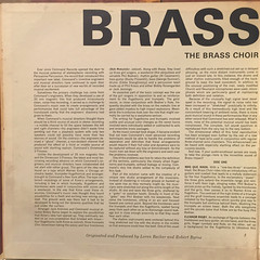 THE BRASS CHOIR:BRASS IMPACT(JACKET C)