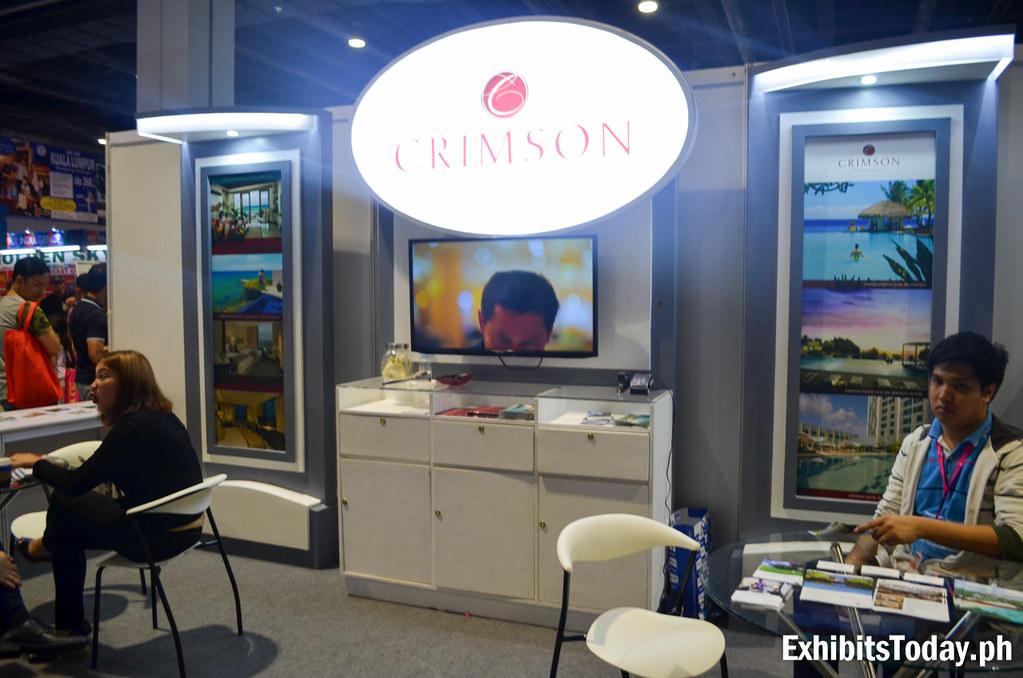 Crimson Hotel Exhibit Booth
