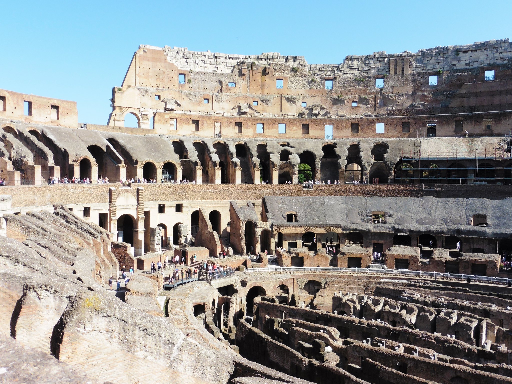 Interior View of The Colosseum