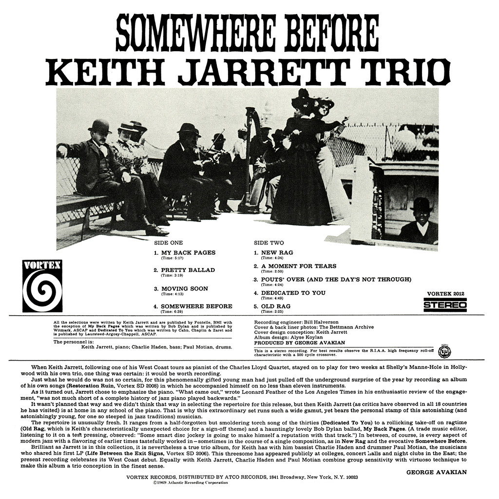 Keith Jarrett - Somewhere Before