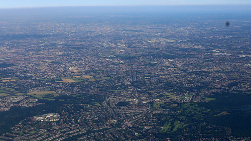 From the air