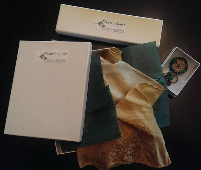 Day 7 of the #ctmonthinthelife  #igchallenge  presented by @createandthrive  is #packaging    I like to keep my packaging simple- clean, white boxes with acid free tissue paper for the scarves, silk and woven, and fiber cushioning for the jewelry.  A clea