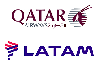 Qatar Airways LATAM Airlines (Cias Aereas)