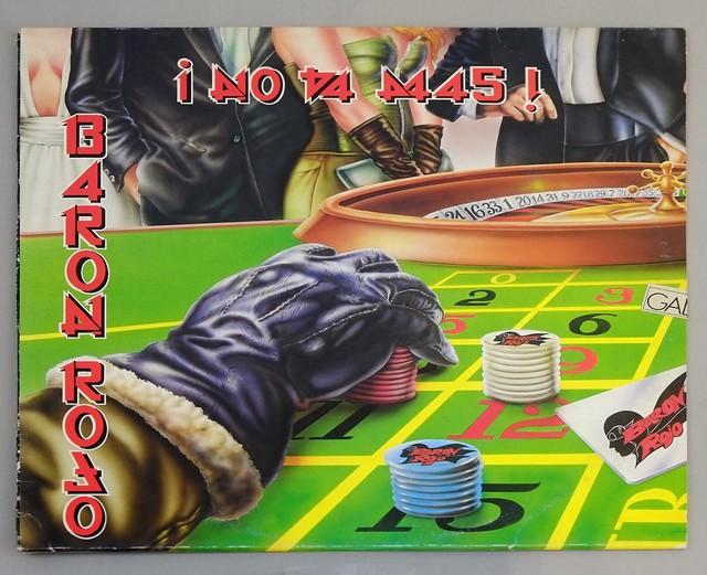 """BARON ROJO NO VA MAS 12"""" LP ALBUM VINYL"""