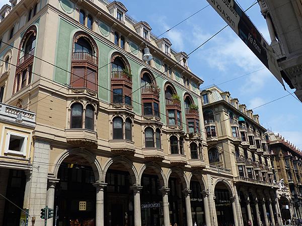façades génoises
