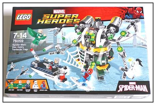 LEGO Marvel Super Heroes 76059 Spider-Man Doc Ock's Tentacle Trap 01