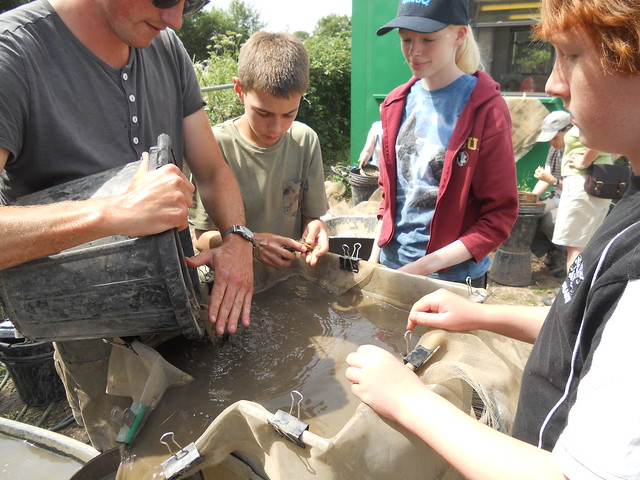 Young Archaeologists' Club in York, UNITED KINGDOM