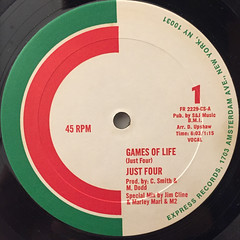 JUST FOUR:GAMES OF LIFE(LABEL SIDE-A)