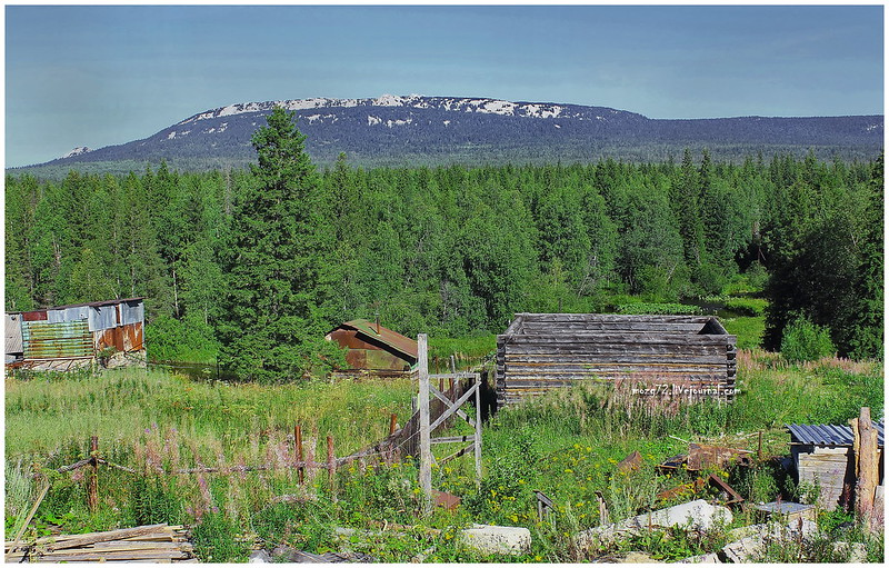 ...the view from the window on the ridge Zyuratkul