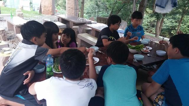 구름산자연학교 여름캠프2일