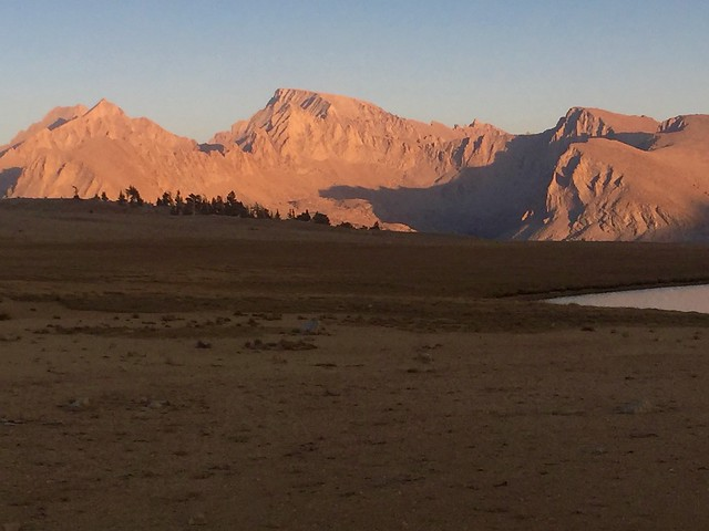 Mt Whitney Evening Color