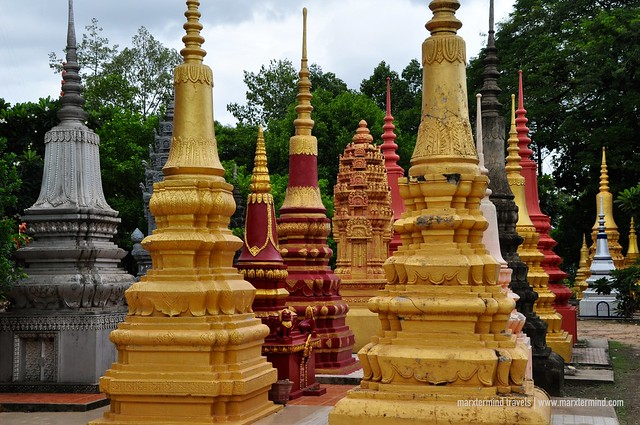 Stupas at Wat Bo Siem Reap
