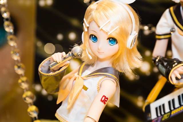 HTドルパ名古屋6 鏡音リン展示