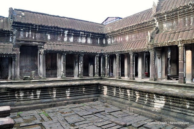 Inside the Gallery of Angkor Wat