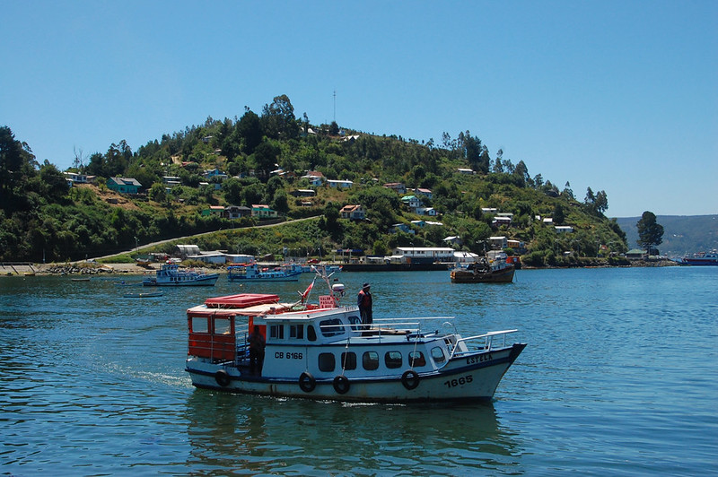 On the Boat to Corral, Valdivia, Los Ríos, Chile