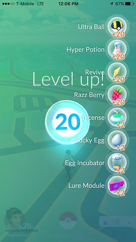 PokemonGoLevel20