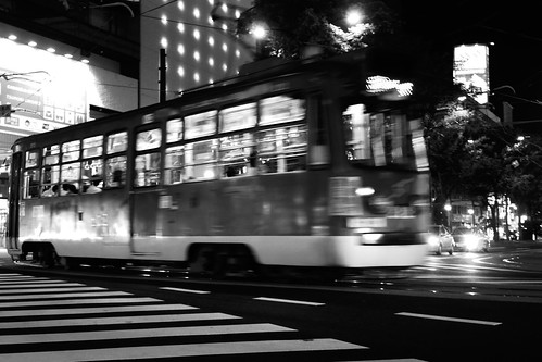 Tramcars at Sapporo on AUG 13, 2016 (14)