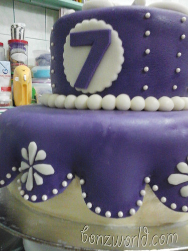 sofia cake 2 tier