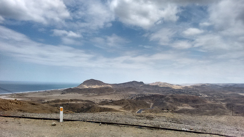 Views from Panamerican Highway, near El Alto, Talara, Piura, Peru