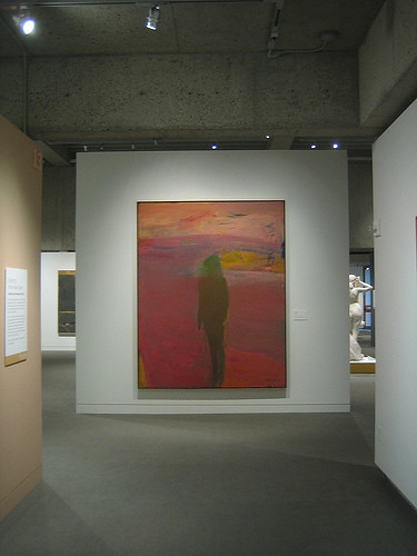 Spring Nude, 1962, Oil on Canvas, Nathan Oliveira, Oakland Museum of California _ 9491