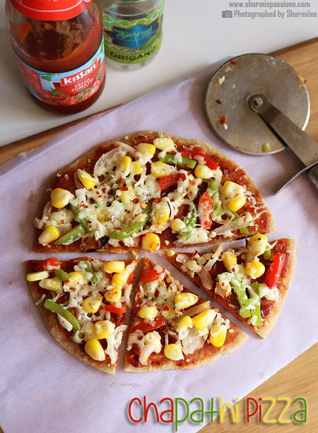 Chapati Pizza Recipe