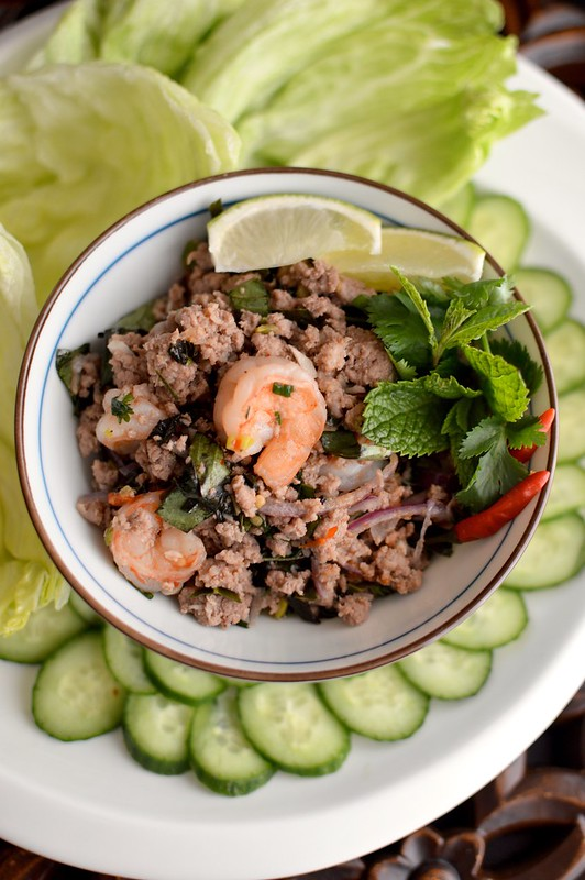 Shrimp & Chicken Larb Gai