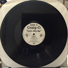 CRAIG G:LET'S GET UP(RECORD SIDE-A)