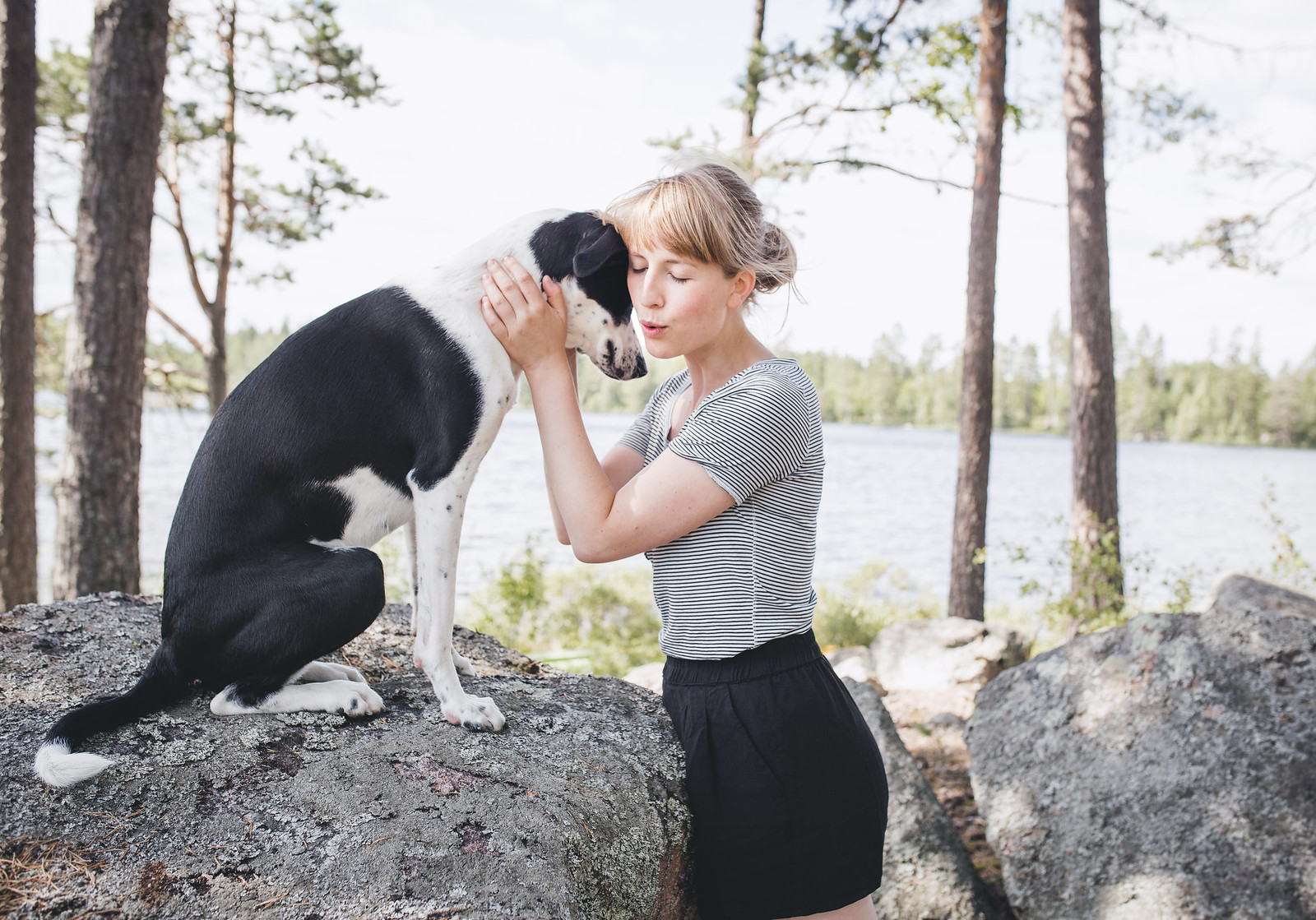 Hunden Elsie & Evelina (Evelinas Ekologiska)