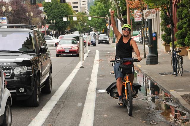 New bikeway on SW 2nd Avenue-11.jpg