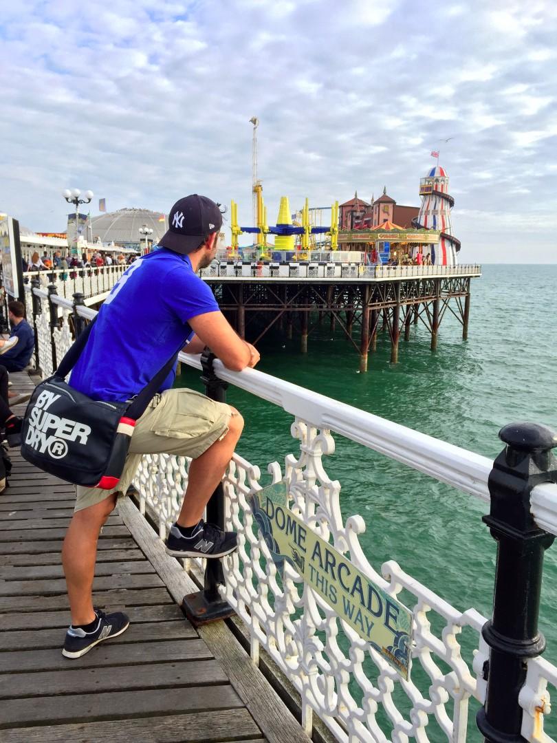 Muelle de Brighton en Inglaterra brighton - 28867406746 08197ca52f o - Brighton, la playa de Londres