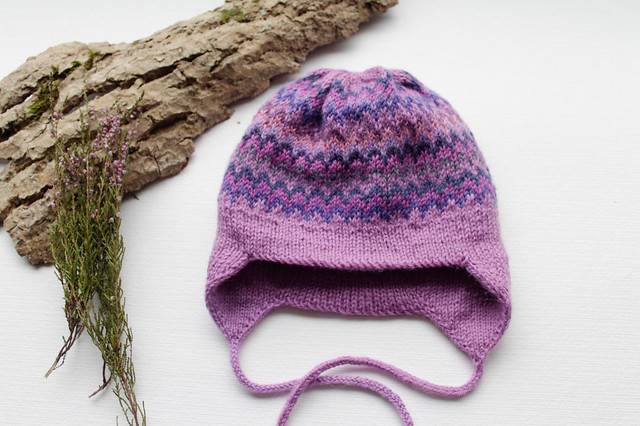 Lilac double hat