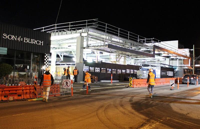 Mckinnon station, 31/7/2016