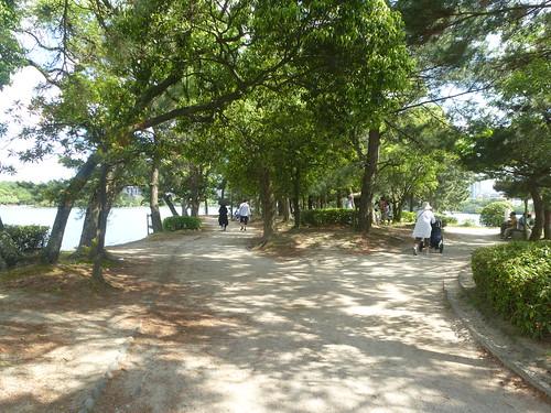 Jp16-Fukuoka-Lac-Parc Ohori (3)