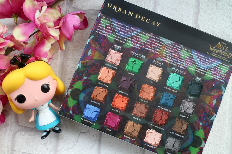 Alice in Wonderland Urban Decay Palette