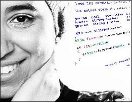 me half face code behind