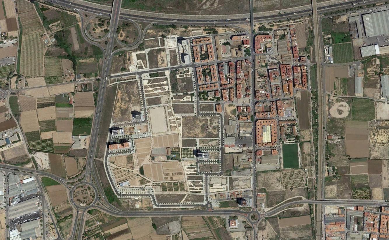 Circuito Urbano Valencia : Nación rotonda la torre valencia