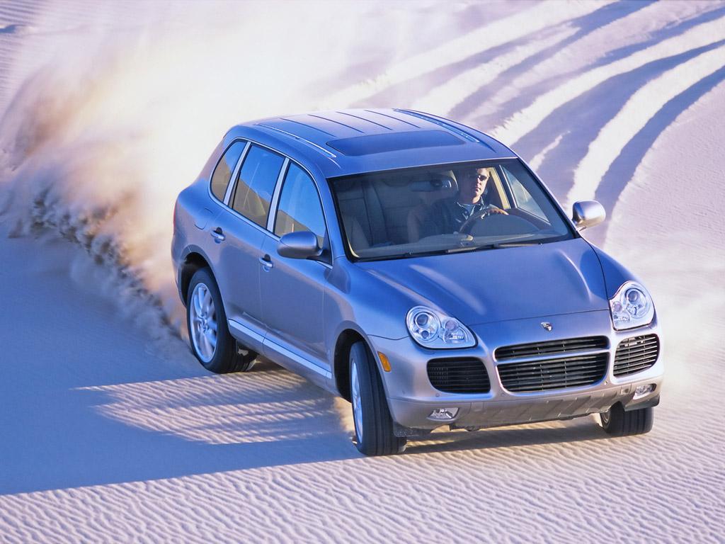 Кроссовер Porsche Cayenne Turbo для рынка США (кузов 955). 2002 – 2007 годы