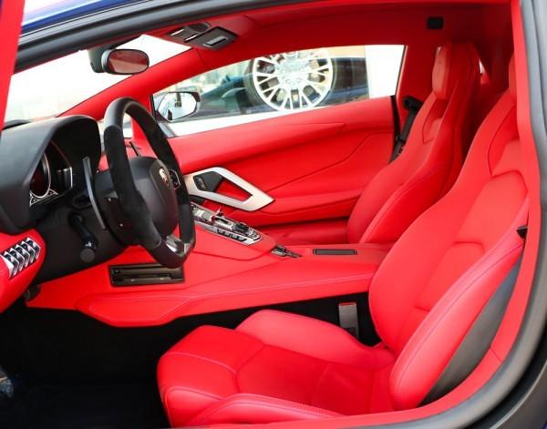 Салон Mansory Lamborghini Aventador