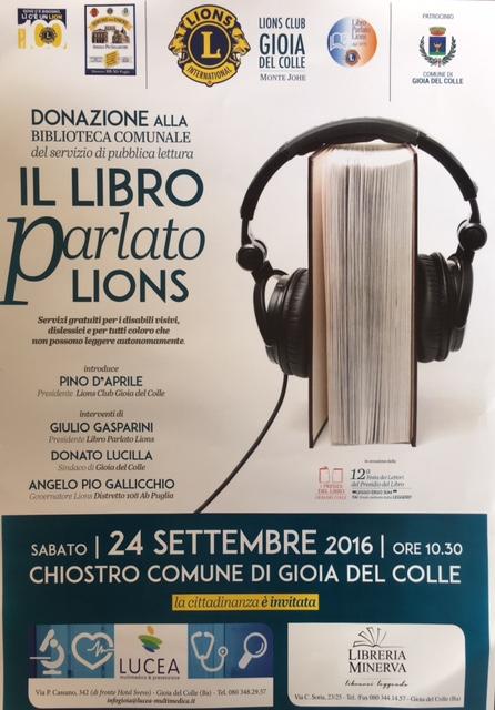 il libro parlato lions