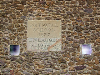 National School 1837 Enlarged AD 1874 1899