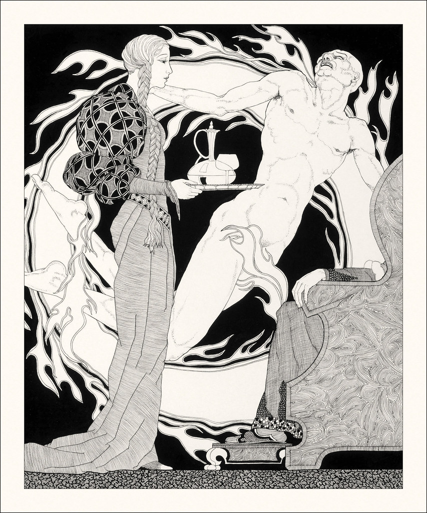 John Yunge Bateman - Illustration from King Lear - Act IV, Scene 7, 1930