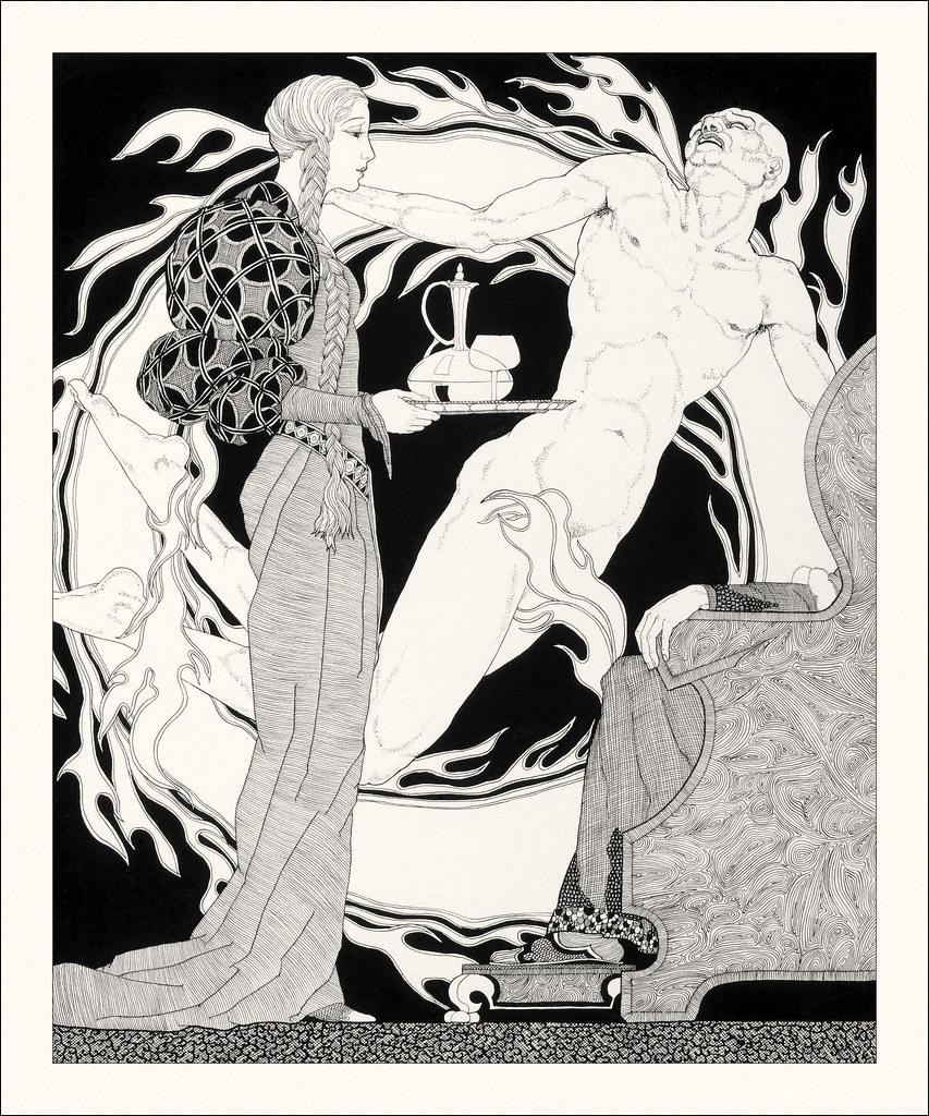 John Yunge Bateman - Illustration from King Lear - Act IV, Scene 7, 1930